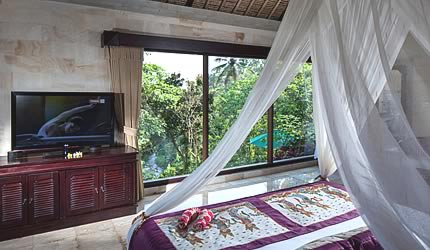 pita maha spa villa bedroom